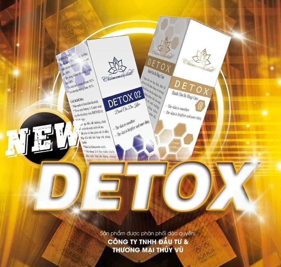 Detox thải độc da Chamomileskill